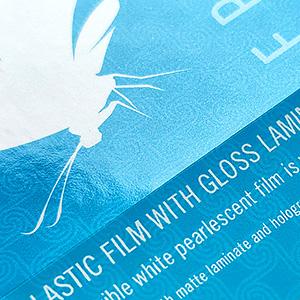 Plastic Film with Gloss Laminate